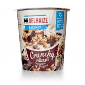 Delhaize Knapperige muesli met chocolade