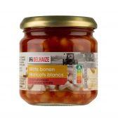 Delhaize Witte bonen in tomatensaus klein