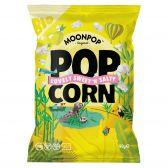 Moonpop Biologische zoet zoute popcorn groot