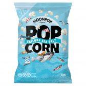 Moonpop Biologisch zeezout popcorn groot