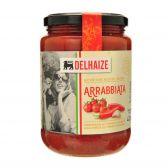 Delhaize Arrabiata kerstomaten pastasaus