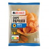 Delhaize Paprika chips klein