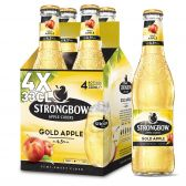 Strongbow Golden apple cider 4-pack
