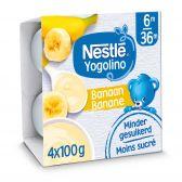 Nestle Baby yogo banana yoghurt (from 6 months)