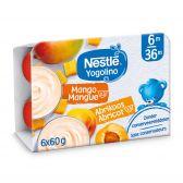 Nestle Yogolino apricot and mango yoghurt (from 8 months)