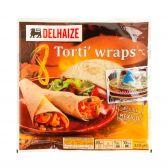 Delhaize 8 Tortillas wraps