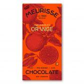Meurisse Biologische ecologische pure chocolade sinaasappel fair trade