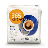 Delhaize 365 Cafeïnevrije koffiepads
