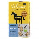 Vilmas Biologische sesam crackers