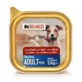 Delhaize Rund en hart terrine hondenvoeding