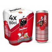 Jupiler Blond pils beer 4-pack