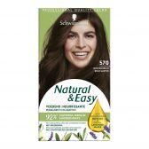 Schwarzkopf Natural & easy middenbruin 570 haarkleuring