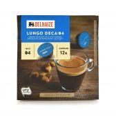 Delhaize Cafeïnevrije lungo koffiecapsules
