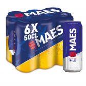 Maes Blond pils beer 6-pack