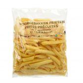 Delhaize Verse voorgebakken frieten (voor uw eigen risico, geen restitutie mogelijk)
