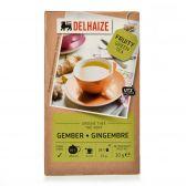 Delhaize Groene gember thee