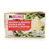 Delhaize Margarine voor bakken en braden 78% vet klein (voor uw eigen risico, geen restitutie mogelijk)
