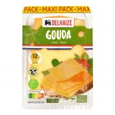 Delhaize Jonge Gouda kaas plakken maxi pack