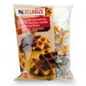 Delhaize Vanille chocolade wafels mini's