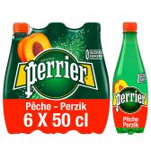 Perrier Peach sparkling mineral water