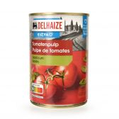 Delhaize Tomatenpulp met basilicum