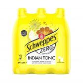 Schweppes Indische tonic zero bruisend 6-pack