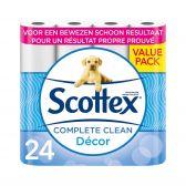 Scottex Ecologisch toiletpapier regular decor