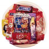 Delhaize Candypack snoepjes assortiment bord van Sinterklaas