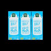 Jumbo Organic semi-skimmed milk 3-pack
