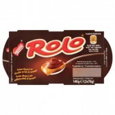 Nestle Rolo cream dessert with milk chocolate and caramel (at your own risk, no refunds applicable)