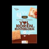 Jumbo Luchtige crackers volkoren met rijstebloem