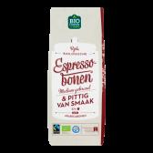 Jumbo Organic espresso beans