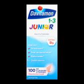 Davitamon Junior vloeibare vitamines frambozensmaak
