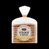 Jumbo Syrup waffles with honey