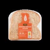 Jumbo Sesam bruin brood half (voor uw eigen risico)