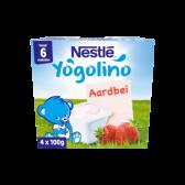 Nestle Yogolino strawberry baby dessert (from 6 months)