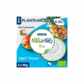 Nestle Naturnes organic apple and pineapple baby dessert (from 6 months)