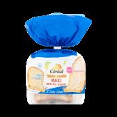 Cereal Gluten free & lactose free maxi sneetjes 3 zaden (voor uw eigen risico)