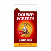 Douwe Egberts Aroma rood grove maling filterkoffie groot