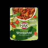 Hak Italiaanse groenteschotel tomaat, courgette & basilicum