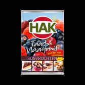 Hak Taart & vlaaifruit bosvruchten