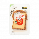 Jumbo Young matured 48+ cheese slices large