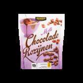 Jumbo Milk chocolate raisins bar