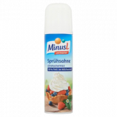 Minus L Lacto free whipped cream (only available within EU)