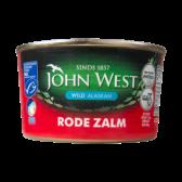John West Wilde rode zalm MSC uit Alaska groot