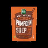 Jumbo Organic creamy pumpkin soup with carrot and paprika