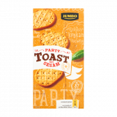 Jumbo Party toast with sesame