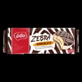 Lotus Zebra chocolade koek
