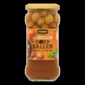 Jumbo Bouillon with soup balls