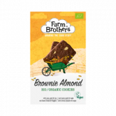 Farm Brothers Brownie almond cookies